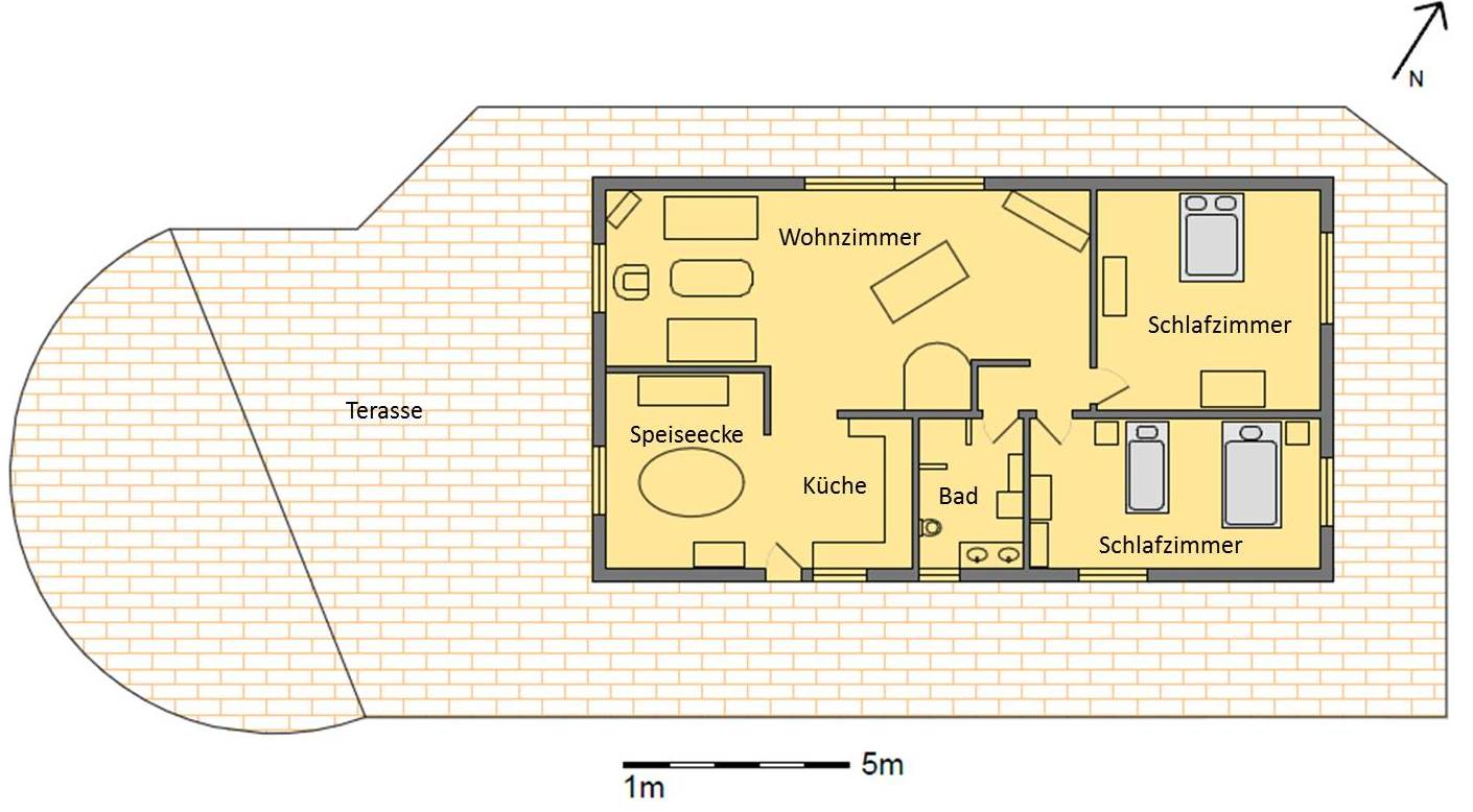 im haus barrierefreies ferienhaus algarve casa luar silves portugal. Black Bedroom Furniture Sets. Home Design Ideas